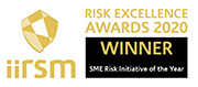 Risk Awards WINNER 2020 - SME Risk
